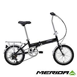 《MERIDA》美利達 FB16折疊車 黑 16吋輪徑 6速 2018