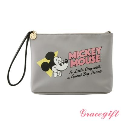 Disney collection by Grace gift-米奇復古圖案手拿包