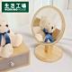 【品牌週全館8折起-生活工場】Clover幸運草松木桌鏡 product thumbnail 1