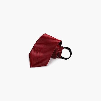拉福   斜紋領帶6cm寬版領帶拉鍊領帶 (兒童多色)