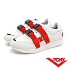 【PONY】TRIBECA系列個性風格潮流運動慢跑鞋 球鞋 男鞋 白色