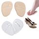 JHS杰恆社abe106矽膠PU前掌鞋墊蹠骨墊腳掌墊女性高跟鞋的疼痛緩解 product thumbnail 1