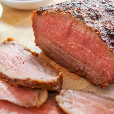 【上野物產】美國嚴選頂級嫩角尖牛排 x7片(120g土10%/片)