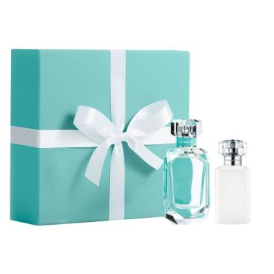 Tiffany & Co.同名女性淡香精限量禮盒(淡香精75ml+乳液100ml)