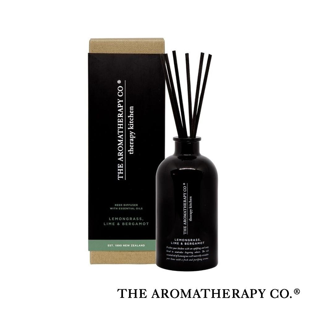 The Aromatherapy Co. 紐西蘭天然香氛 Therapy Kitchen系列 檸檬草佛手柑 250ml 居家擴香