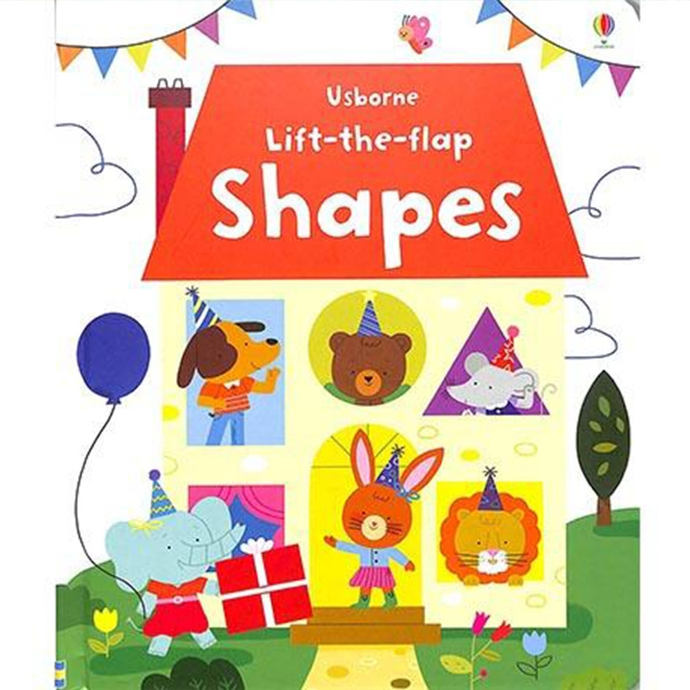 Lift-The-Flap Shapes 翻翻學習書:百變圖形精裝本 product image 1