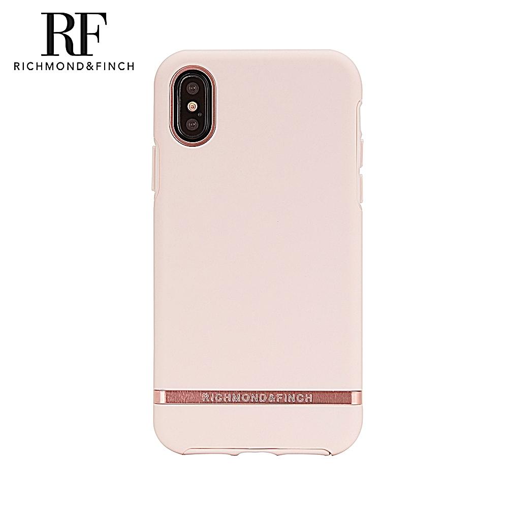 RF瑞典手機殼 玫瑰金線框-玫瑰粉 (iPhone Xs Max 6.5吋)