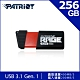 (6/20前再送3%超贈點)Patriot美商博帝 Rage Elite 256GB USB隨身碟 product thumbnail 1