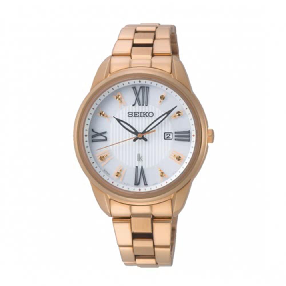 SEIKO 精工LUKIA優雅時分廣告款太陽能腕錶SUT364J1/V137-0DC0K
