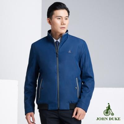 JOHN DUKE 約翰公爵率性立領防風夾克_寶藍(63-8K5862)