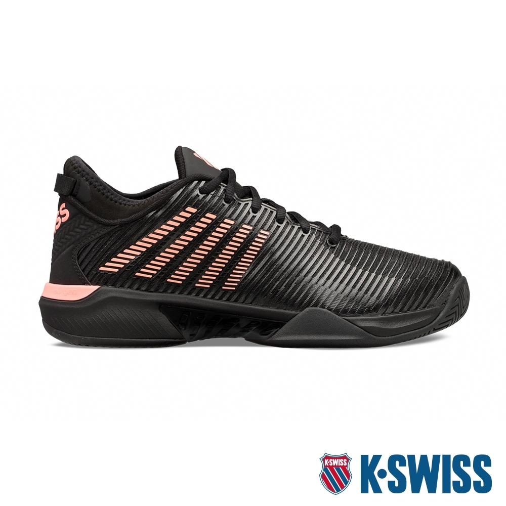 K-SWISS Hypercourt Supreme輕量進階網球鞋-男-黑/橘