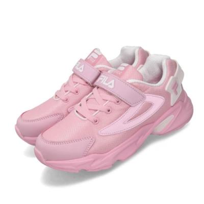 Fila 慢跑鞋 2J824T551 運動 童鞋
