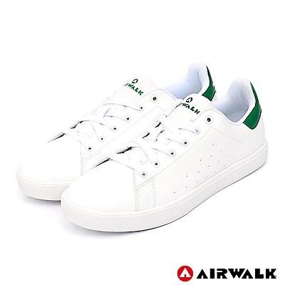 AIRWALK - 經典潮流休閒鞋-男款-白綠