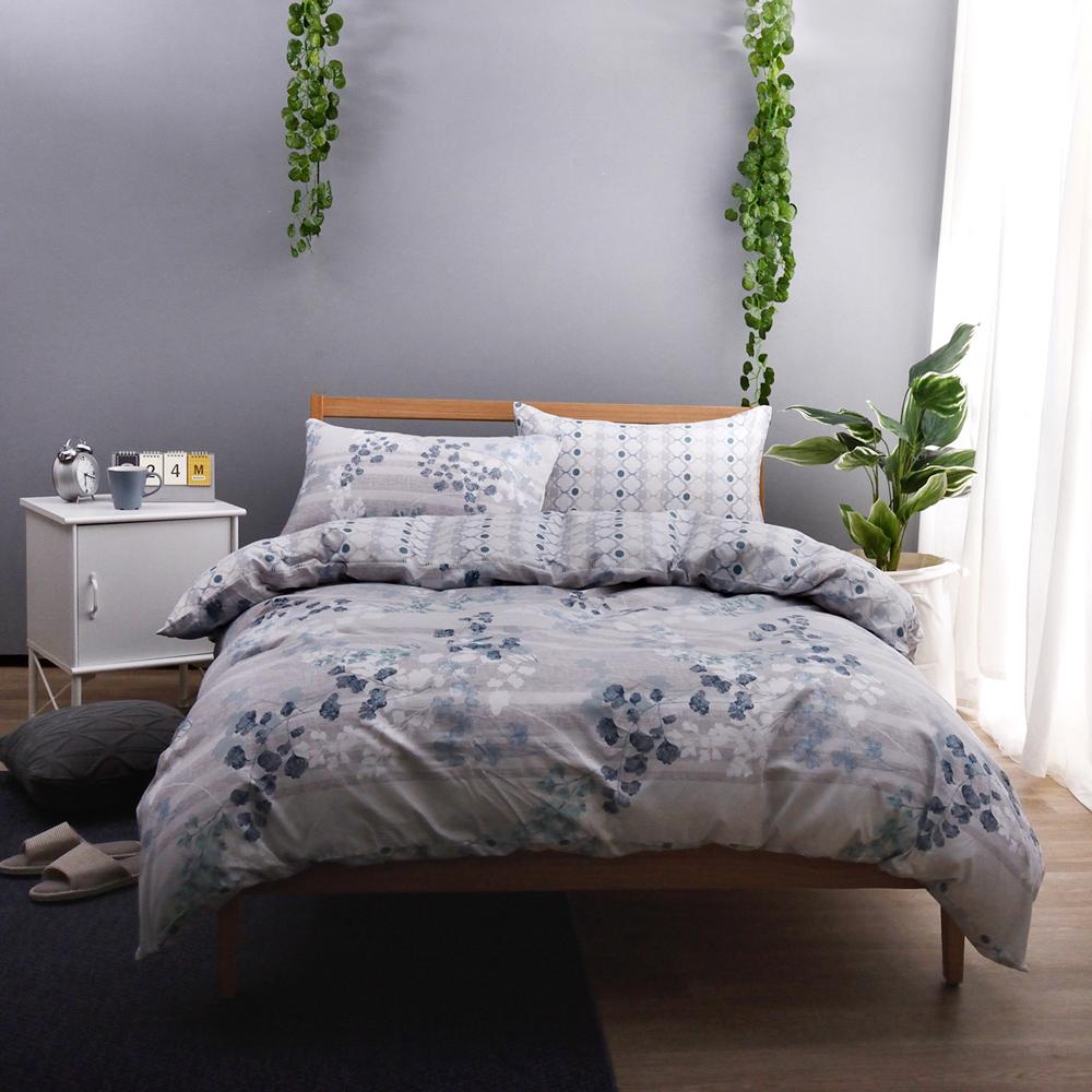 喬曼帝Jumendi天然防蹣防蚊單人床包雙人被套(採用Greenfirst技術)-綠意盎然