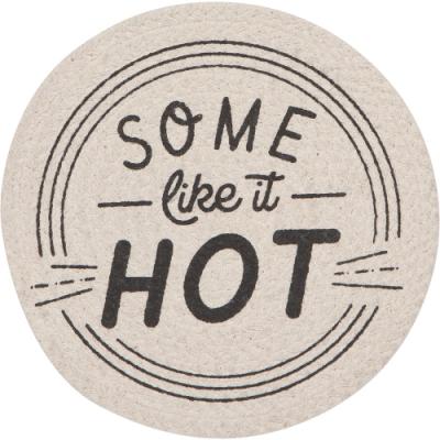 《NOW》圓形編織隔熱墊(Hot)