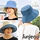 Sunlead 雙面可戴。防曬寬緣寬圓頂遮陽帽/漁夫帽 (單寧布+米褐) product thumbnail 1