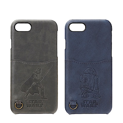 iPhone 8/7 星際大戰 皮革/口袋/票卡夾 手機硬殼 4.7吋