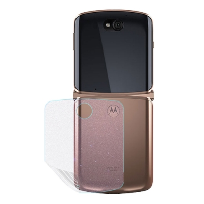 o-one大螢膜PRO Motorola Razr 5G 滿版全膠手機背面保護貼 手機保護貼
