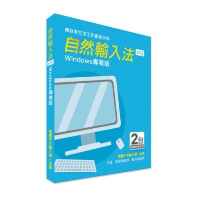 自然輸入法V12 專業版 (Windows版)