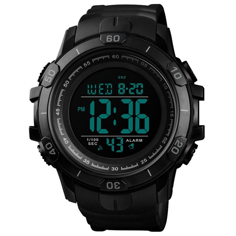 SKMEI 時刻美1475-硬漢風格大錶盤運動電子錶(4色任選)