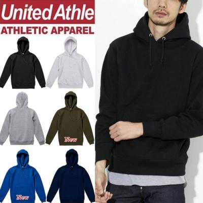 United Athle日本連帽T 重磅磨毛長袖上衣 UA 情侶裝 防寒刷毛