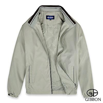 GIBBON 簡約格紋輕量防風外套-三色