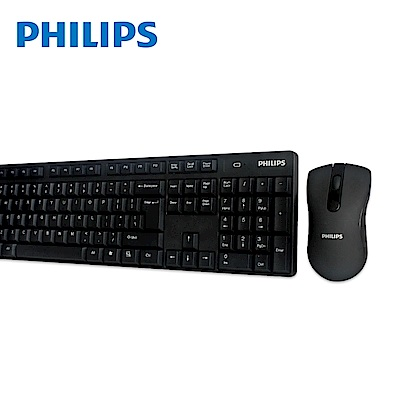 PHILIPS 飛利浦 無線鍵盤滑鼠組 SPT6501