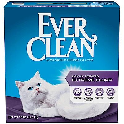美國EverClean《藍鑽系列》活性碳除臭貓砂(綠標)-25LB