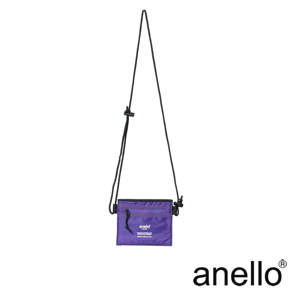 anello TRACK 正反兩色斜背零錢包 黑色