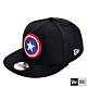 NEW ERA 9FIFTY 950 童 美國隊長 黑/紅 棒球帽 product thumbnail 2