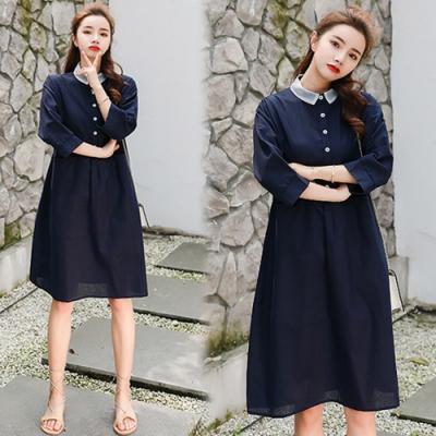 【韓國K.W.】特惠款樂活舒適洋裝