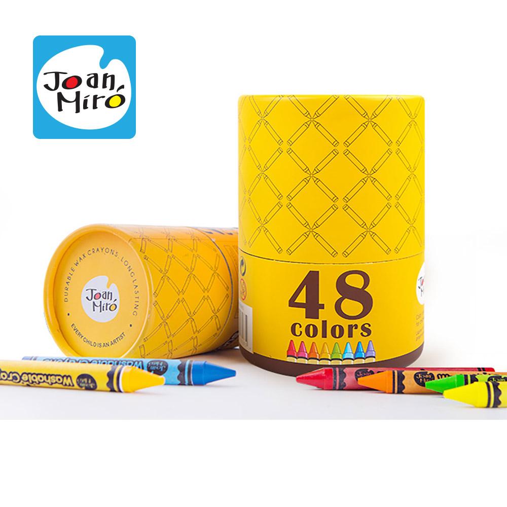 西班牙 Joanmiro 可水洗蠟筆-48色