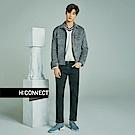H:CONNECT 韓國品牌 男裝-雙口袋造型夾克外套-灰[情人節送禮推薦]