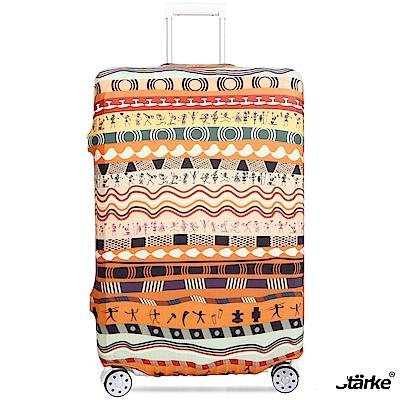Starke 26-29吋高彈性行李箱套 -非洲大地
