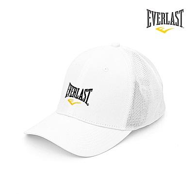 EVERLAST美國運動品牌-透氣網帽-白