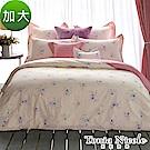 Tonia Nicole東妮寢飾  凡爾賽花園環保印染100%精梳棉兩用被床包組(加大)