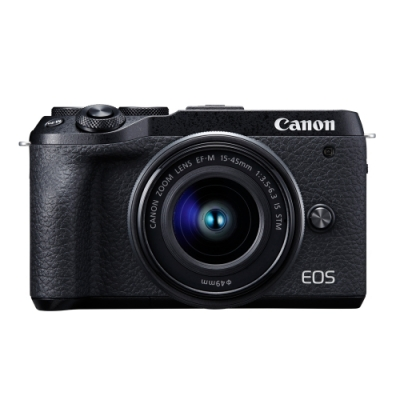 Canon EOS M6 Mark II (M2) 15-45mm+22mm人像雙鏡組(公司貨)