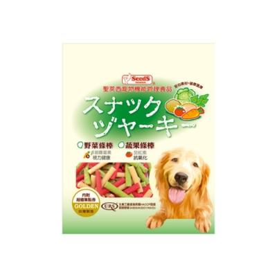 SEEDS聖萊西-寵物機能管理食品黃金系列-蔬果條棒   280g (VFJ-280)