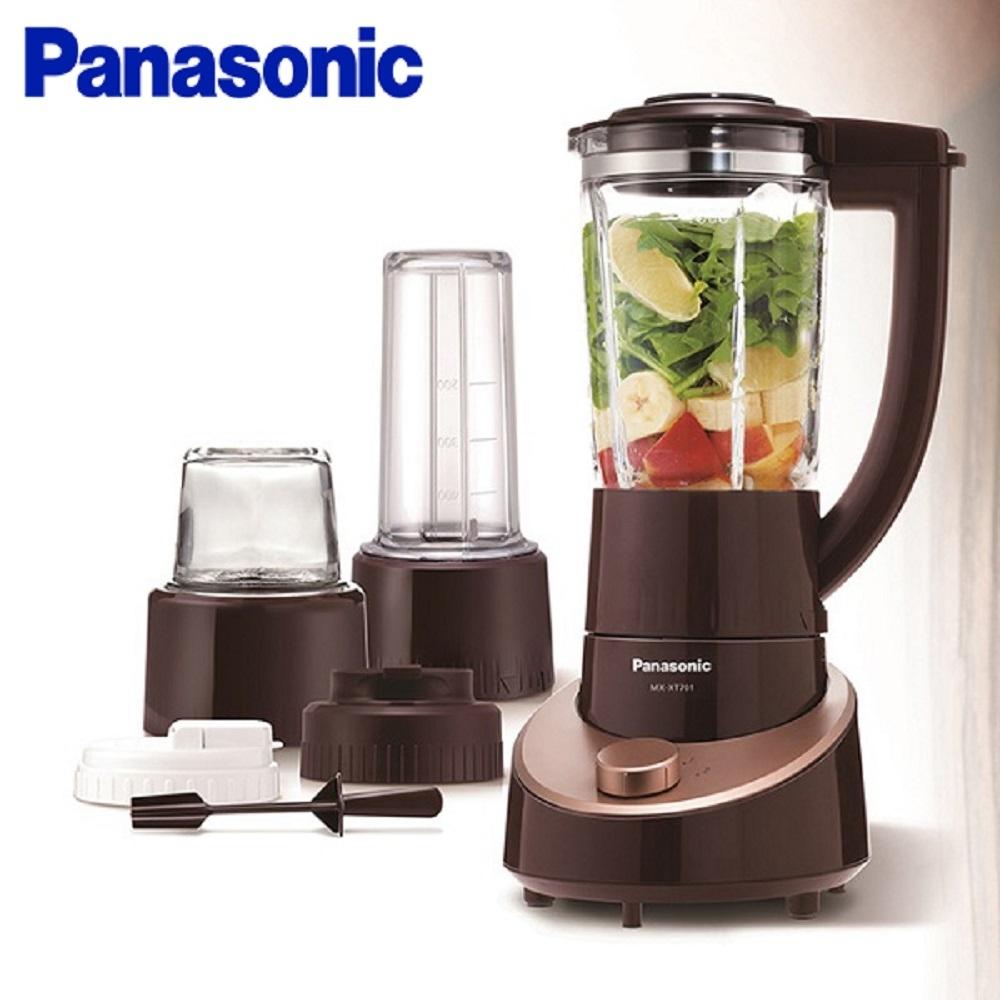 Panasonic 國際牌 1300ml玻璃杯果汁/研磨機(附隨手杯) MX-XT701-