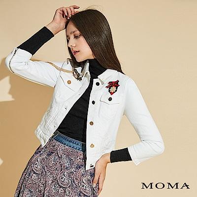 MOMA 牛仔徽章外套