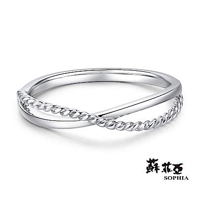 蘇菲亞SOPHIA - 交織愛情K金戒指
