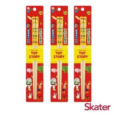 Skater日式竹筷(21cm)玩具總動員3入組