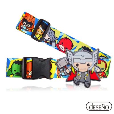 Marvel 漫威英雄立體名牌束帶-索爾