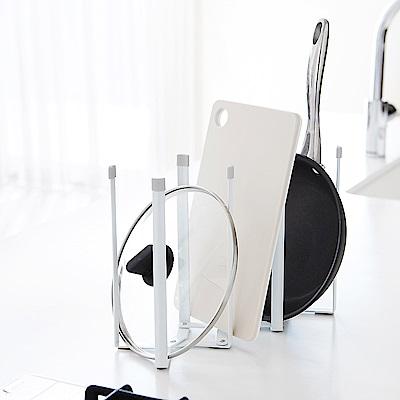 日本【YAMAZAKI】Plate伸縮式多用途支撐架★奶瓶架/保溫杯架/烤盤架/廚房/瀝水架
