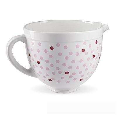 KitchenAid 陶瓷攪拌盆5Q(粉紅點點)