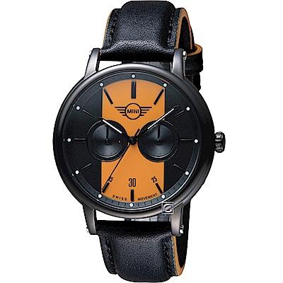 MINI Swiss Watches英式經典腕錶(MINI-160637)