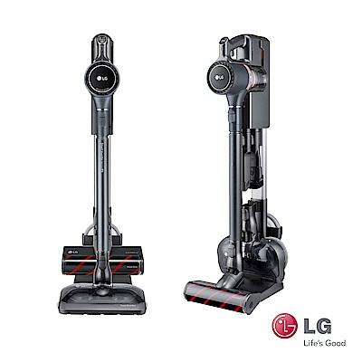 LG A9PSMOP2X (鐵灰)快清式濕拖無線吸塵器