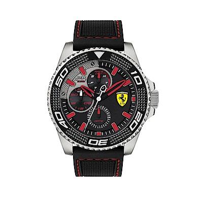 FERRARI 奔馳計時橡膠時尚腕錶/0830467