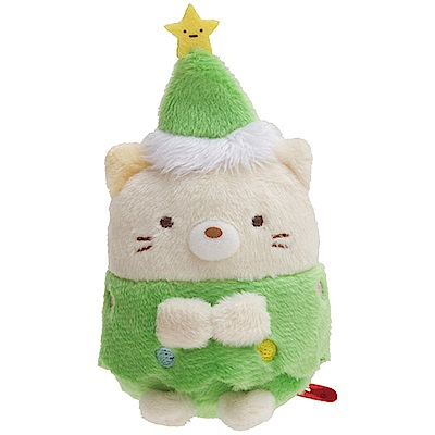 角落公仔2018聖誕節掌心沙包小公仔。羞羞貓 San-X
