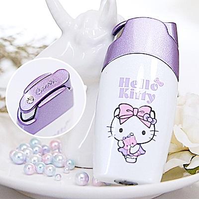 Hello Kitty X Caseti紫色按壓式-Kitty 聯名香水瓶 旅行香水攜